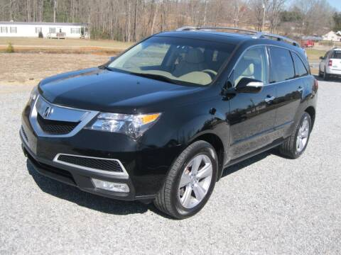 2011 Acura MDX for sale at Judy's Cars in Lenoir NC