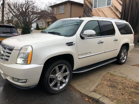 2008 Cadillac Escalade ESV for sale at Great Lakes Classic Cars & Detail Shop in Hilton NY