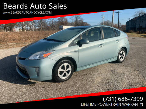 2012 Toyota Prius for sale at Beards Auto Sales in Milan TN