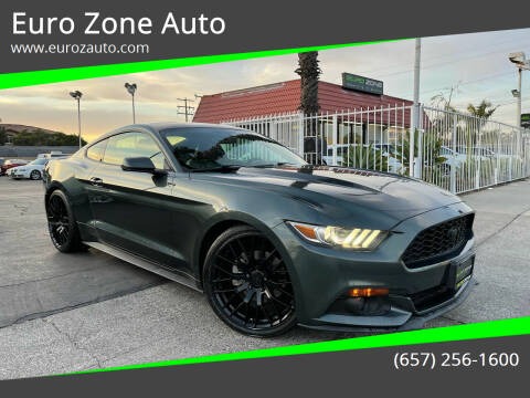 2015 Ford Mustang for sale at Euro Zone Auto in Stanton CA
