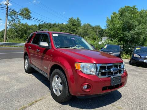 2008 Ford Escape for sale at Royal Crest Motors in Haverhill MA