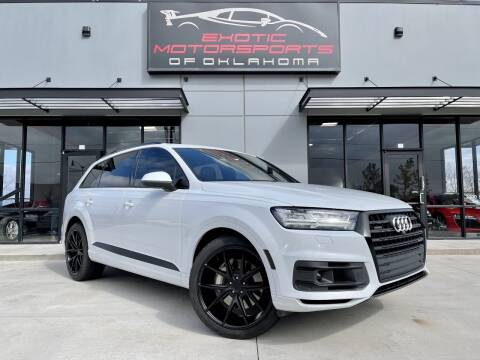2018 Audi Q7 for sale at Exotic Motorsports of Oklahoma in Edmond OK