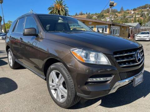 2013 Mercedes-Benz M-Class for sale at MISSION AUTOS in Hayward CA