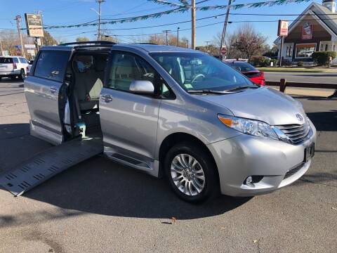 2013 Toyota Sienna Braun Wheelchair Van for sale at Auto Sales Center Inc in Holyoke MA