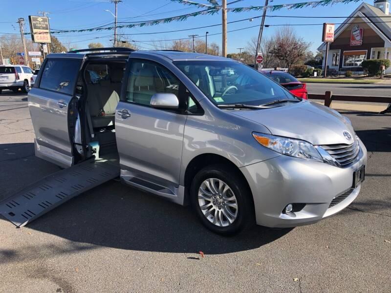 2013 Toyota Sienna Braun Wheelchair Van for sale at Auto Sales Center Inc in Holyoke MA