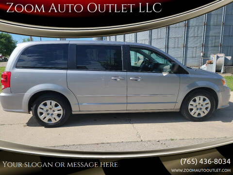 2014 Dodge Grand Caravan for sale at Zoom Auto Outlet LLC in Thorntown IN