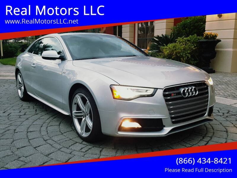 2013 Audi S5 for sale at Real Motors LLC in Clearwater FL