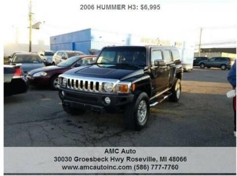 2006 HUMMER H3 for sale at AMC Auto in Roseville MI
