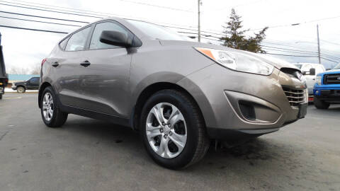2011 Hyundai Tucson for sale at Action Automotive Service LLC in Hudson NY