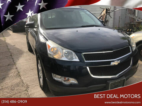 2011 Chevrolet Traverse for sale at Best Deal Motors in Saint Charles MO