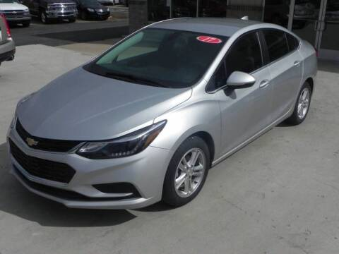 2017 Chevrolet Cruze for sale at Thompson Car Company in Bad Axe MI