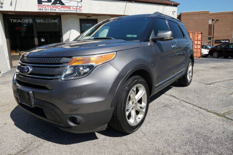 2011 Ford Explorer for sale at PA Motorcars in Conshohocken PA