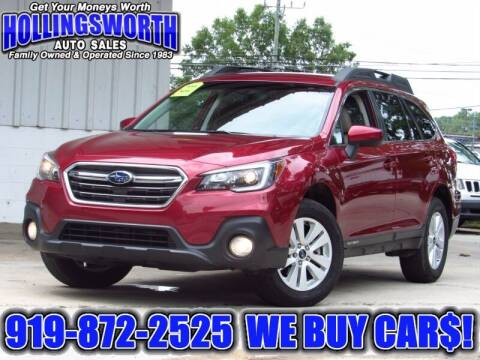 2018 Subaru Outback for sale at Hollingsworth Auto Sales in Raleigh NC