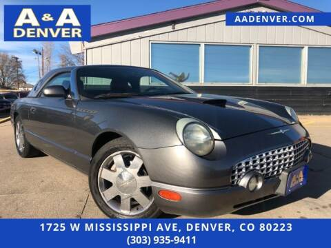 2003 Ford Thunderbird for sale at A & A AUTO LLC in Denver CO