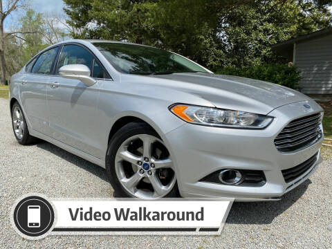 2016 Ford Fusion for sale at Byron Thomas Auto Sales, Inc. in Scotland Neck NC