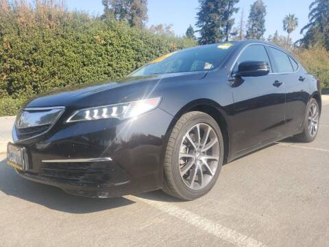 2015 Acura TLX for sale at ALL CREDIT AUTO SALES in San Jose CA