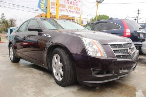 2008 Cadillac CTS for sale at FJ Auto Sales in North Hollywood CA