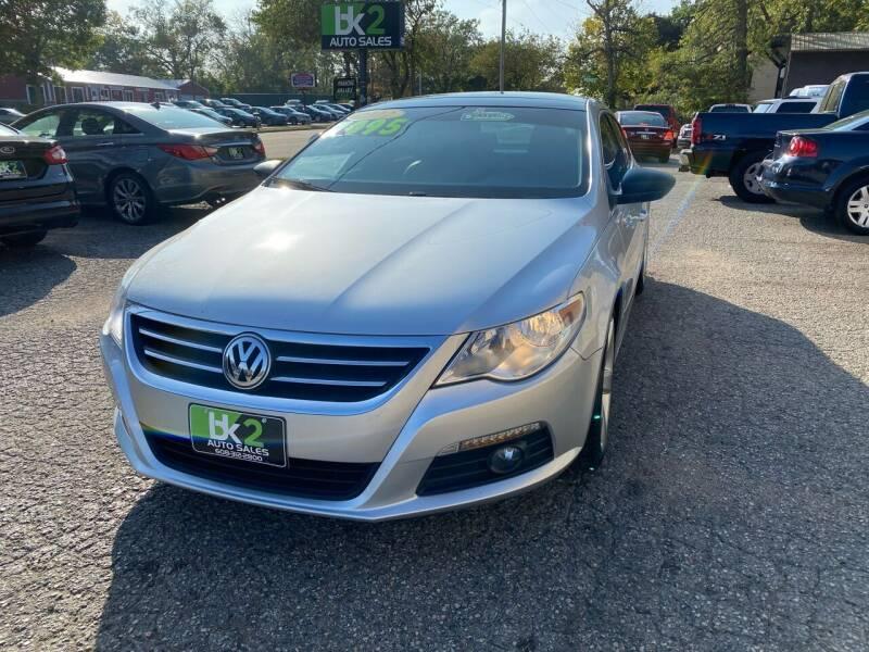 2012 Volkswagen CC for sale at BK2 Auto Sales in Beloit WI