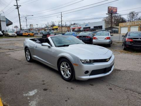 2015 Chevrolet Camaro for sale at Green Ride Inc in Nashville TN