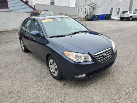2009 Hyundai Elantra for sale at Fortier's Auto Sales & Svc in Fall River MA
