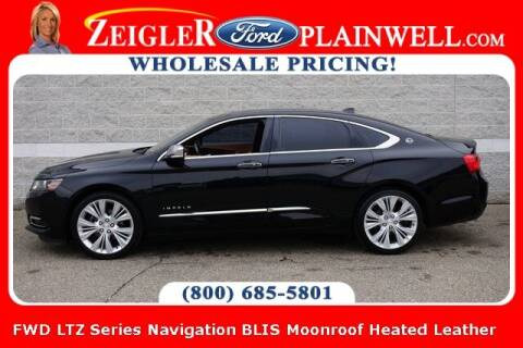 2014 Chevrolet Impala for sale at Zeigler Ford of Plainwell- Jeff Bishop in Plainwell MI