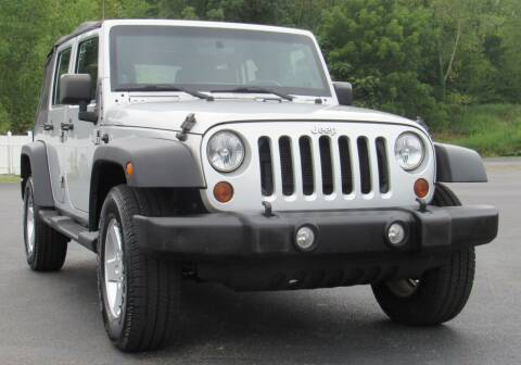 2012 Jeep Wrangler Unlimited for sale at Car Culture in Warren OH