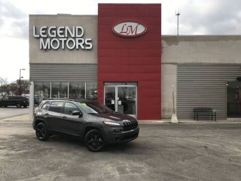 2018 Jeep Cherokee for sale at Legend Motors of Detroit - Legend Motors of Ferndale in Ferndale MI