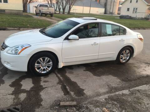 2010 Nissan Altima for sale at A & J AUTO SALES in Eagle Grove IA