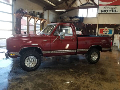 1976 Dodge W-100 4X4 Adventurer for sale at Cool Classic Rides in Redmond OR