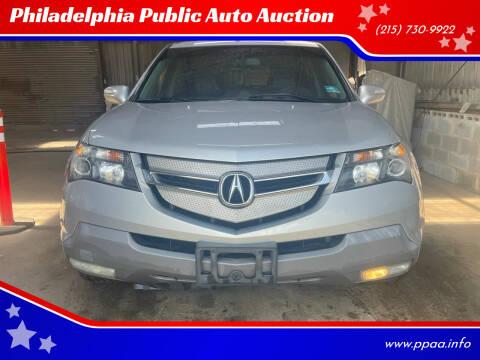 2008 Acura MDX for sale at Philadelphia Public Auto Auction in Philadelphia PA
