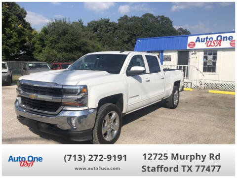 2018 Chevrolet Silverado 1500 for sale at Auto One USA in Stafford TX