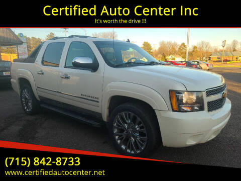 2009 Chevrolet Avalanche for sale at Certified Auto Center Inc in Wausau WI