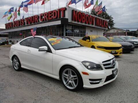 2013 Mercedes-Benz C-Class for sale at Giant Auto Mart 2 in Houston TX