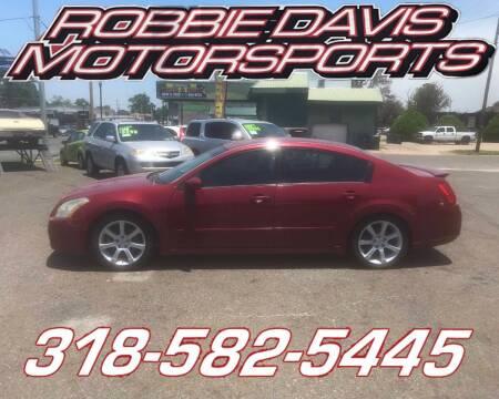 2007 Nissan Maxima for sale at Robbie Davis Motorsports in Monroe LA