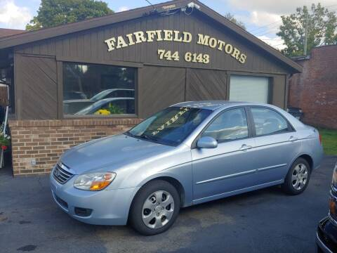 2008 Kia Spectra for sale at Fairfield Motors in Fort Wayne IN