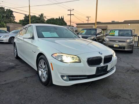 2012 BMW 5 Series for sale at Crown Auto Inc in South Gate CA