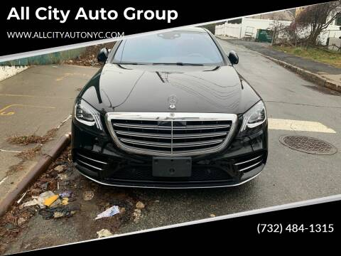 2018 Mercedes-Benz S-Class for sale at All City Auto Group in Staten Island NY