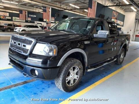 2008 Ford F-150 for sale at Vans Vans Vans INC in Blauvelt NY
