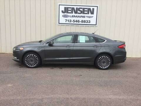 2017 Ford Fusion for sale at Jensen's Dealerships in Sioux City IA
