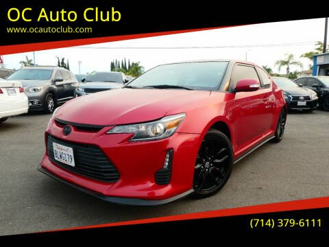 2016 Scion tC for sale at OC Auto Club in Midway City CA