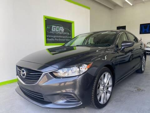 2016 Mazda MAZDA6 for sale at GCR MOTORSPORTS in Hollywood FL