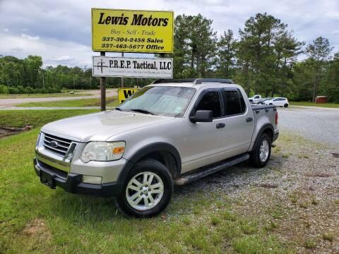 2008 Ford Explorer Sport Trac for sale at Lewis Motors LLC in Deridder LA