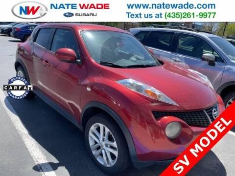 2012 Nissan JUKE for sale at NATE WADE SUBARU in Salt Lake City UT