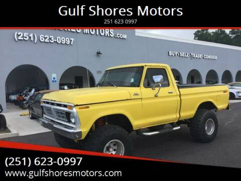 1977 Ford F-150 for sale at Gulf Shores Motors in Gulf Shores AL