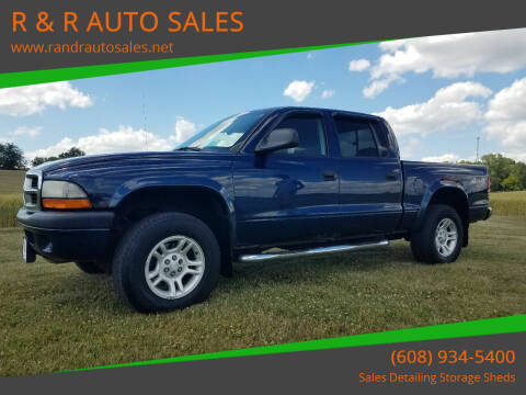 2004 Dodge Dakota for sale at R & R AUTO SALES in Juda WI