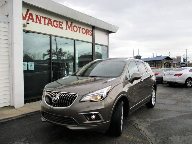 2017 Buick Envision for sale at Vantage Motors LLC in Raytown MO