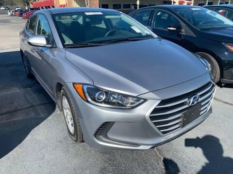 2017 Hyundai Elantra for sale at Drive Now Motors in Sumter SC