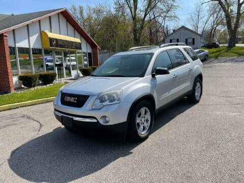 2009 GMC Acadia for sale at Bronco Auto in Kalamazoo MI