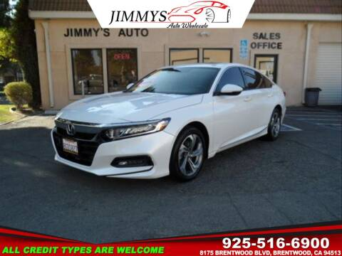 2018 Honda Accord for sale at JIMMY'S AUTO WHOLESALE in Brentwood CA