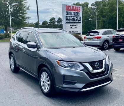 2019 Nissan Rogue for sale at Reliable Cars & Trucks LLC in Raleigh NC